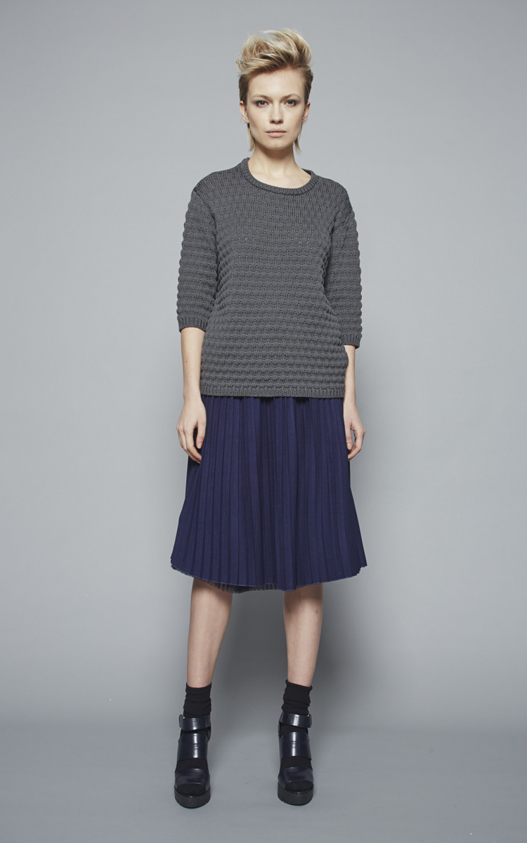 Autumn Winter 2015/16 Collection: Article Gastone skirt 2 - Sarbello round neck
