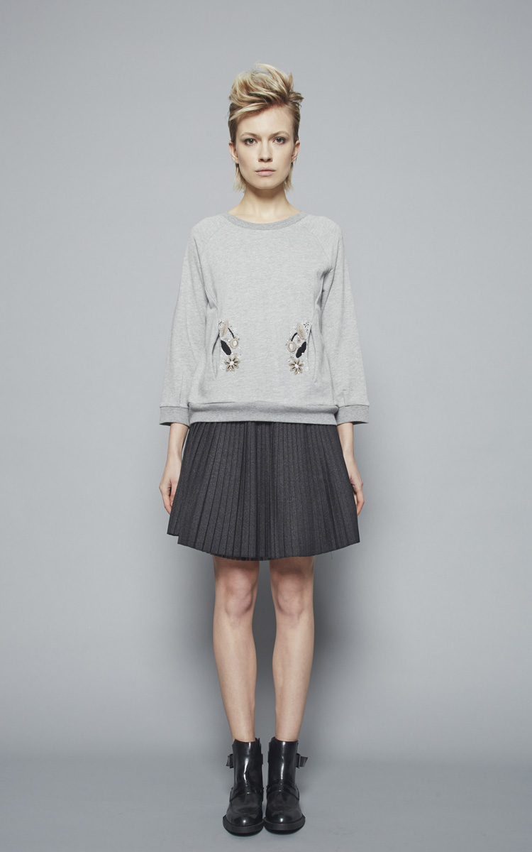 Autumn Winter 2015/16 Collection: Article Gastone skirt - Article Virgilio Round neck 2