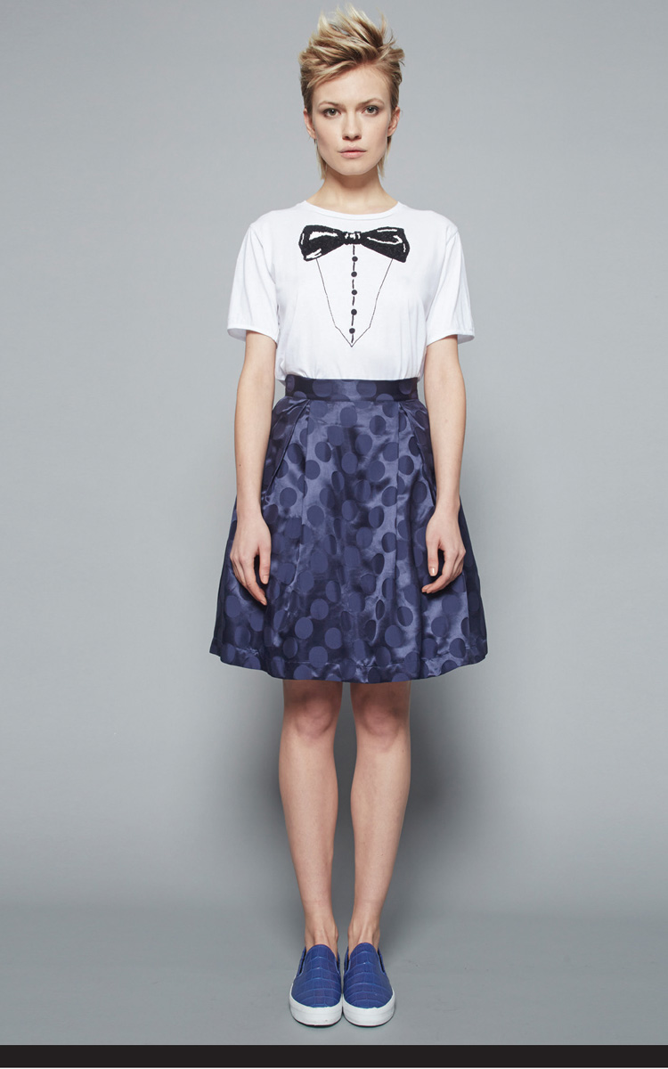 Autumn Winter Collection 2015/16: Article Venustiano t-shirt 1 - Article Giasone skirt