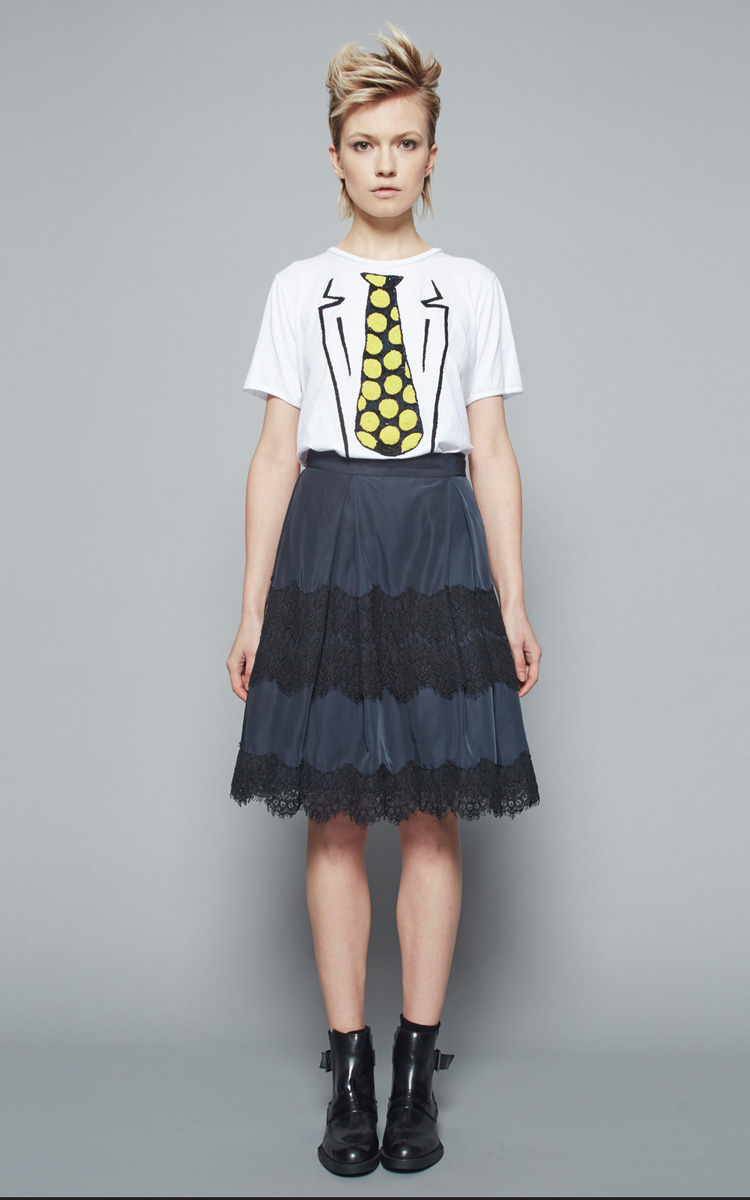 Autumn Winter Collection 2015/16: Article Venustiano t-shirt 2 - Article Gioacchino skirt