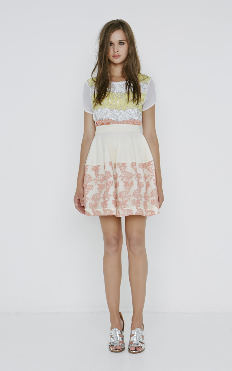 Spring Summer 2016 Collection: Article Agata Top - Article Irina skirt