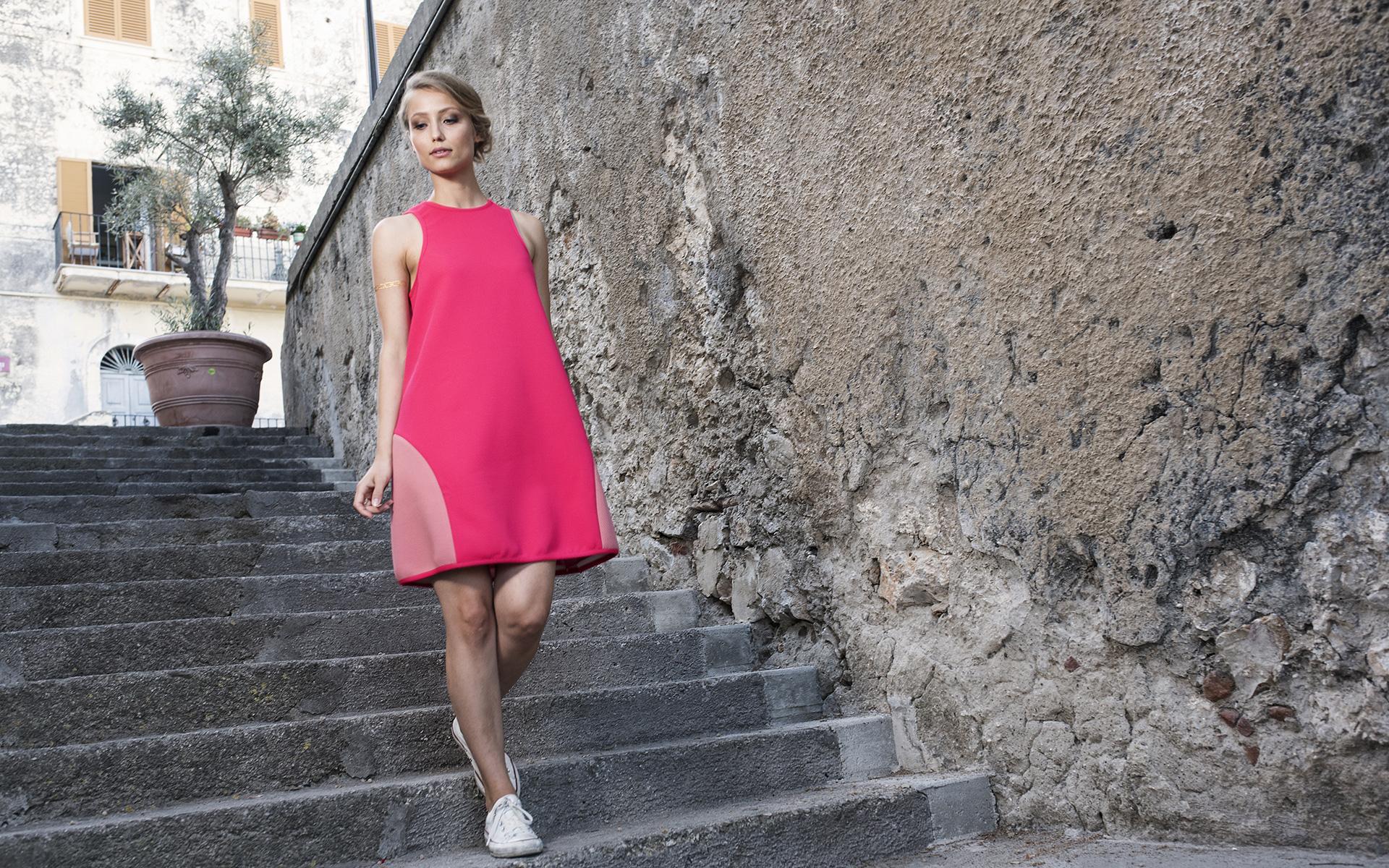 Veronica Olivier veste Princesse Metropolitaine