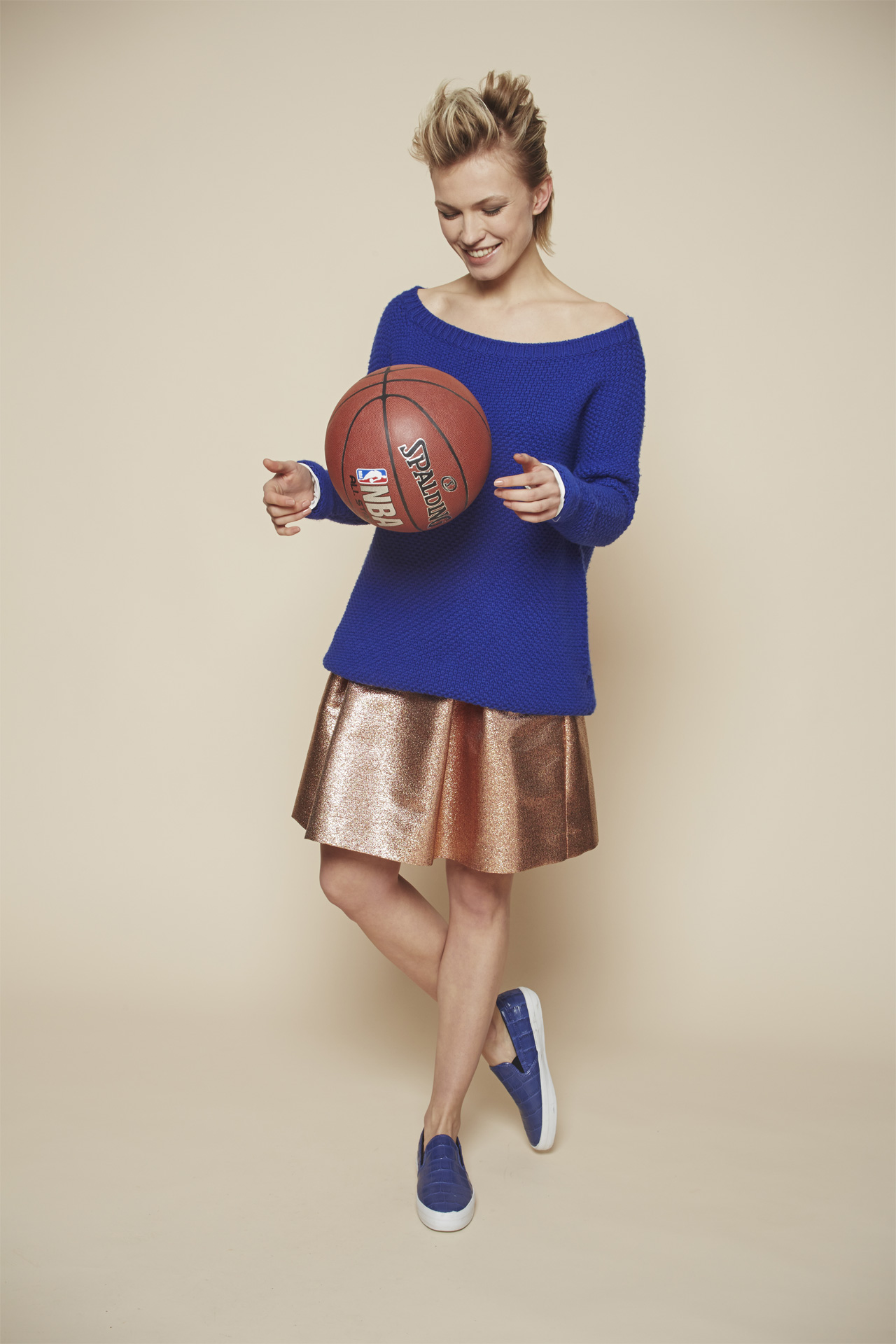Autumn Winter 2015/16 Collection: Article Silvestro round neck 2 - article giove skirt