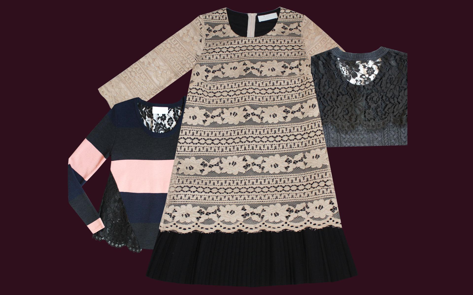 Collezione Autunno Inverno 2016/17: Articolo Sarinda girocollo - Articolo Gimbri abito 2 - Articolo Sarinda cardigan